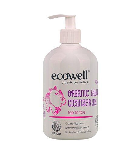 Ecowell Organik Bebek Temizleme Jeli (500 Ml). ürün görseli