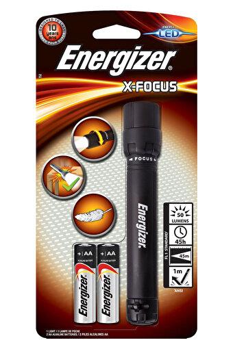 Energizer Xfocus LED Fener + 2AA Pil. ürün görseli