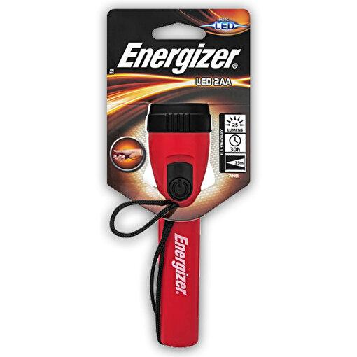 Energizer Plastic LED Fener + 2AA Pil. ürün görseli