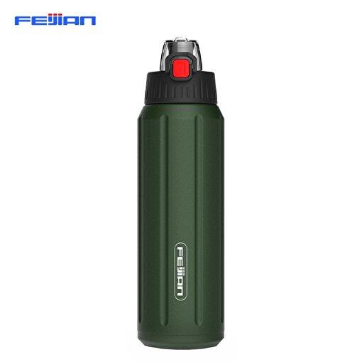 Feijian FS-045-05A 450 ml Yeşil Çelik Termos. ürün görseli