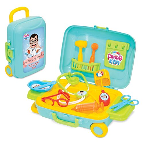 Dede Candy & Ken Doktor Set Bavulum. ürün görseli
