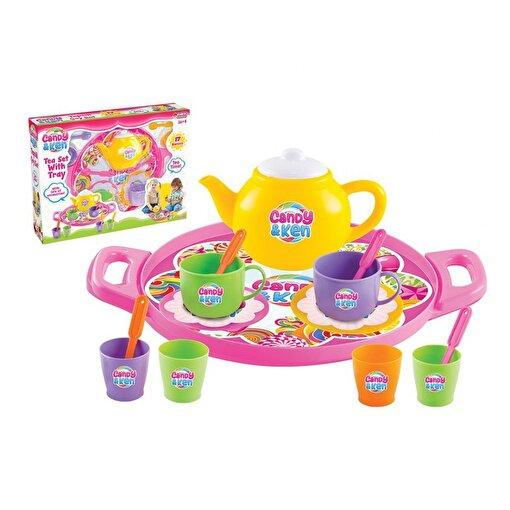 Dede Candy & Ken Tepsili Çay Set. ürün görseli