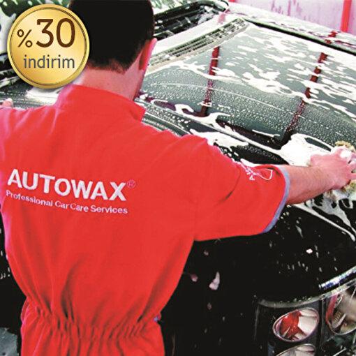 Autowax İç ve Dış Yıkamada %30 İndirim Kuponu. ürün görseli