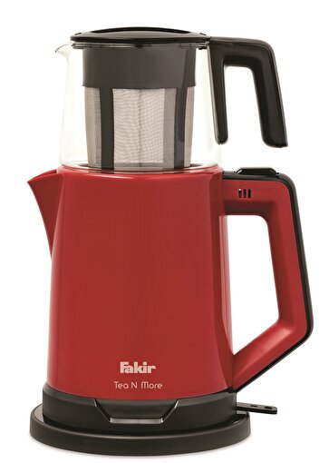 Fakir Tea N More Çay Makinesi Kırmızı. ürün görseli