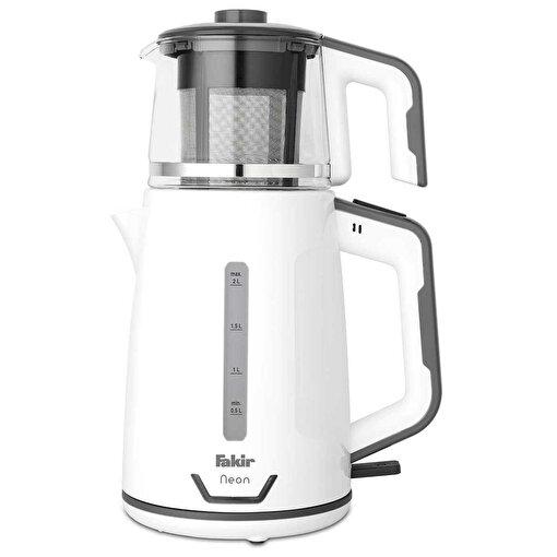 Fakir Neon Çay Makinesi Beyaz-Gri. ürün görseli