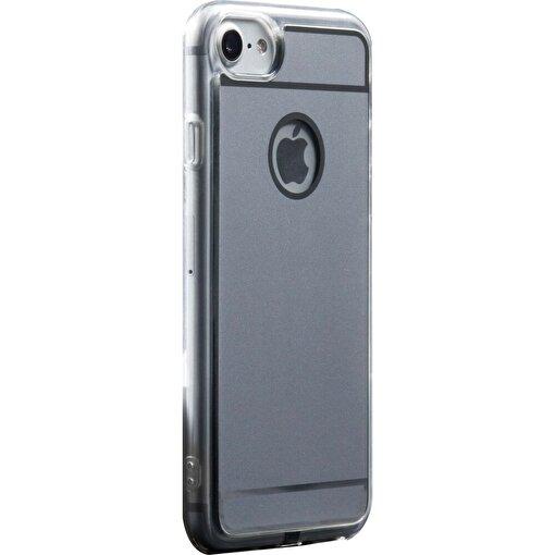 FluxPort Fluxy AirCase iPhone 6 Plus/6S Plus /7 Plus Kablosuz Sarj Kılıfı Gümüş. ürün görseli