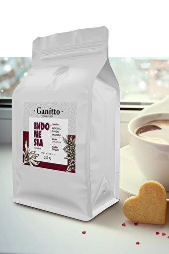 Ganitto Indonesia Sumatra Çekirdek Kahve 250 Gr. ürün görseli