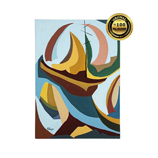 Huzur 50x70 Yağlı Boya Tablo. ürün görseli