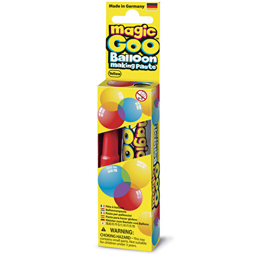 Magic Goo Balloon Sihirli Balon Sarı. ürün görseli