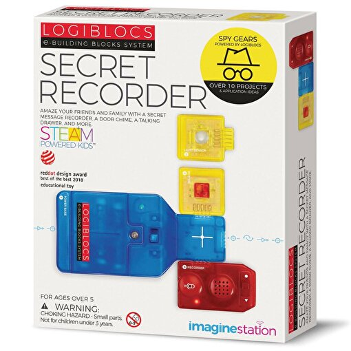 Logiblocs Secret Recorder Akıllı Elektronik Devre. ürün görseli