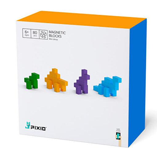 Pixio Mini Dinosours Manyetik Blok. ürün görseli