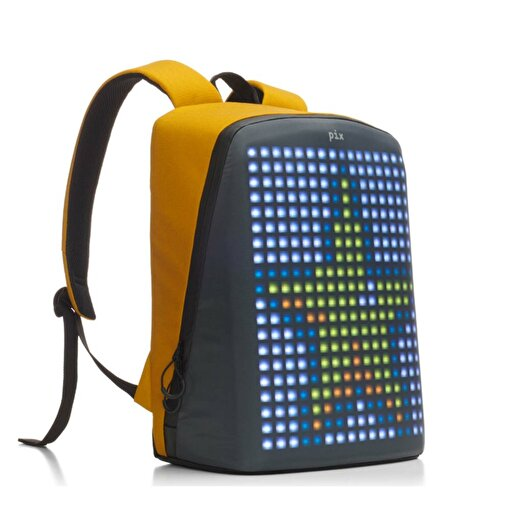 Pix Yellow Akıllı Ekranlı Sırt Çantası. ürün görseli