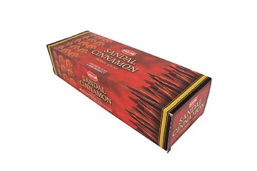 Keep London Home Hem Sandal Cinnamon Tarçın ve Sandal Ağacı Kokulu 6 Kutu 120 Adet Tütsü Çubukları. ürün görseli