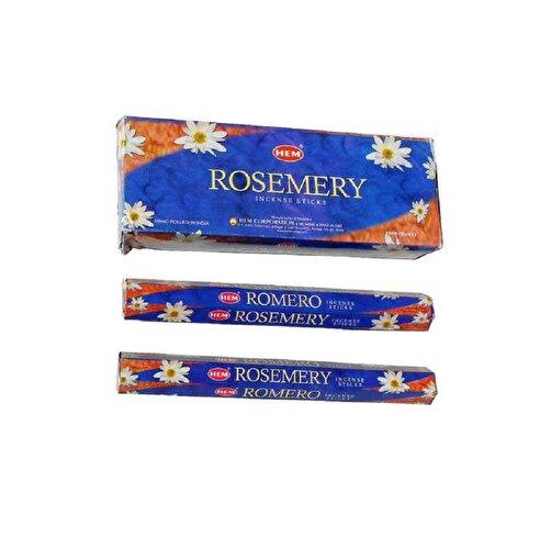 Keep London Home Hem Rosemery Biberiye Bitkisi Özlü Mistik 6 Kutu 120 Adet Tütsü Çubukları. ürün görseli