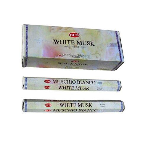 Keep London Home Hem White Musk Beyaz Misk Otu Özlü  6 Kutu 120 Adet Tütsü Çubukları. ürün görseli