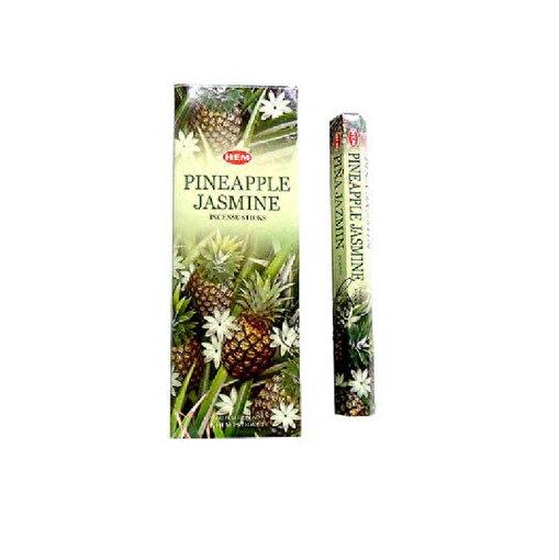 Keep London Home Hem Pine Apple Jasmine Ananas ve Yasemin Çiçeği Özlü 6 Kutu 120 Adet Tütsü Çubukları. ürün görseli