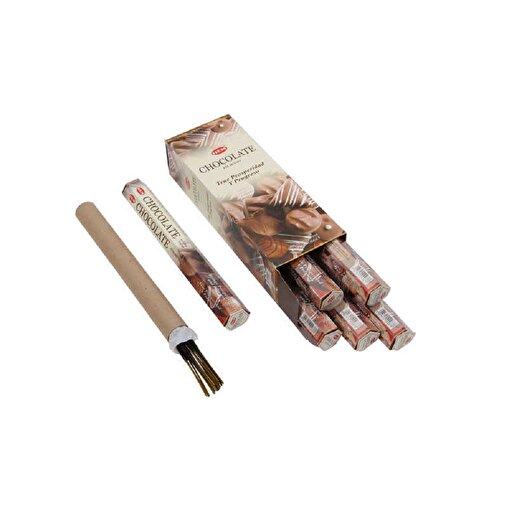 Keep London Home Chocolate Span Çikolata Kokulu 6 Kutu 120 Adet Tütsü Çubukları. ürün görseli
