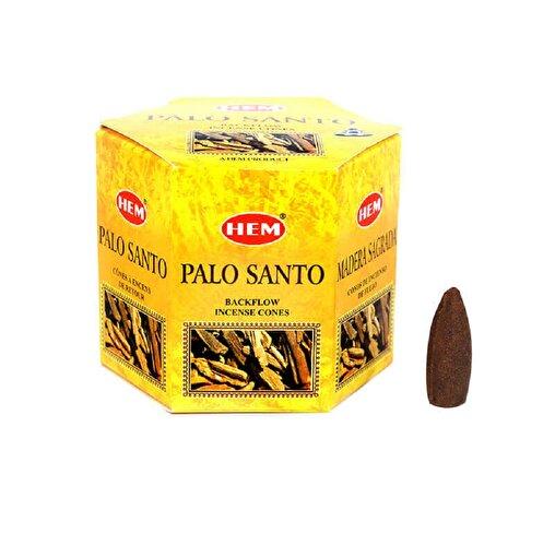 Keep London Home Hem Palo Santo Geri Akışlı 1 Paket 40 Adet Konik Delikli Tütsü. ürün görseli