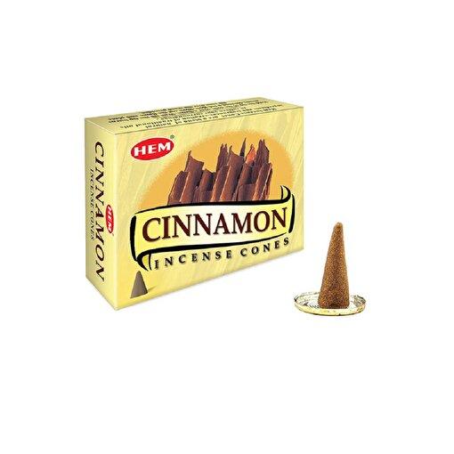 Keep London Home Hem Cinnamon Tarçın Özlerinden 120 Adet Konik Tütsü. ürün görseli