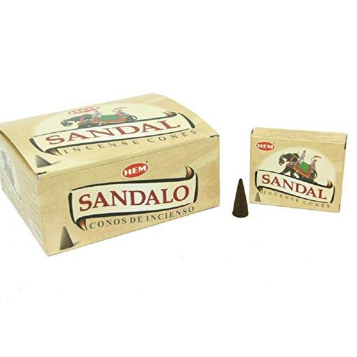 Keep London Home Sandalo Sandal Ağacı Özlerinden 120 Adet Konik Tütsü. ürün görseli