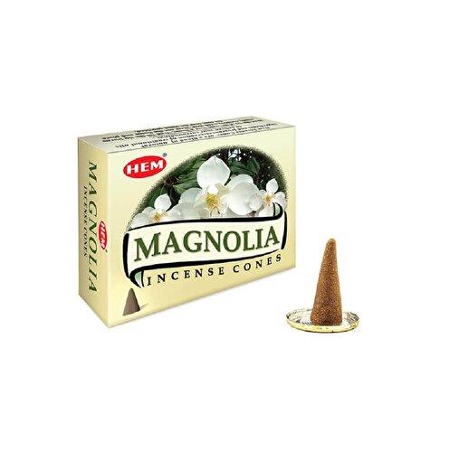Keep London Home Hem Magnolia Cones Manolya Çiçeği Özlerinden 120 Adet Konik Tütsü. ürün görseli