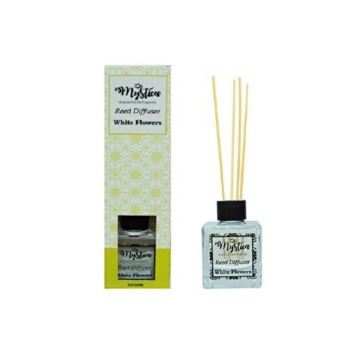 Keep London Home White Flowers Beyaz Çiçekler Kokulu Bambu Çubuklu 100ml Oda Kokusu. ürün görseli