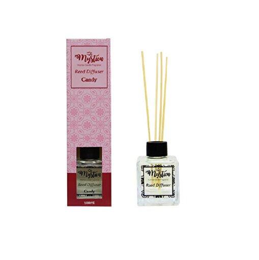 Keep London Home Candy Şeker Kokulu Bambu Çubuklu 100ml Oda Kokusu. ürün görseli
