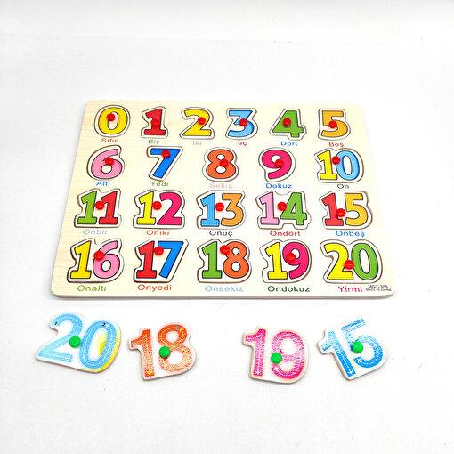 Keep London Kids Ahşap Eğitici-Öğretici Sayılar Bul Tak. ürün görseli