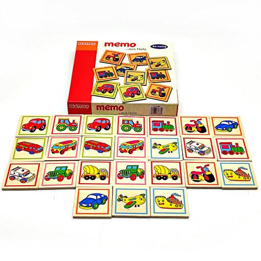 Keep London Kids Ahşap Eğitici-Öğretici Hafıza Kartları Memo Oyunu. ürün görseli