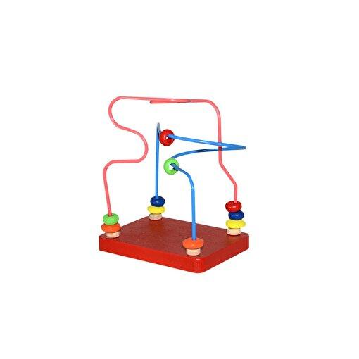 Keep London Kids Ahşap Kutulu Mini Boncuklu Eğitici Koordinasyon ve Eşleştirme Oyunu. ürün görseli