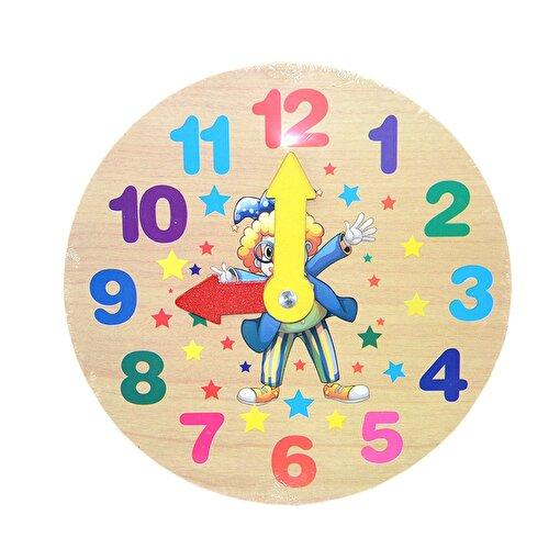 Keep London Kids Ahşap Saat Öğrenme Oyunu. ürün görseli