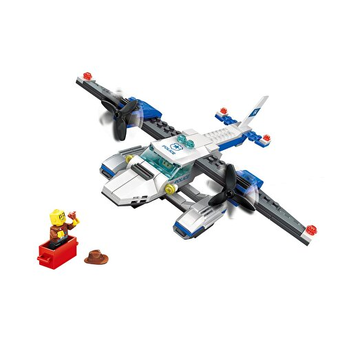 Keep London Kids Eğitici 3 in 1 Polis Sahil Güvenlik Deniz Uçağı Bloklar. ürün görseli