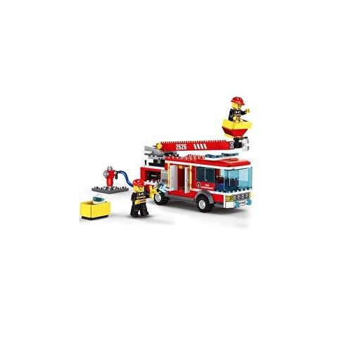 Keep London Kids Eğitici Yangın Söndürme Seti ve İtfaiye Aracı Bloklar. ürün görseli