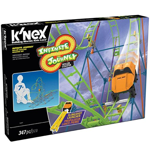 K'Nex Infinite Journey Roller Coaster Seti Thrill Rides Knex 1540. ürün görseli