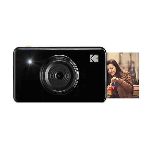 Kodak Mini Shot Anında Baskı Siyah Dijital Fotoğraf Makinesi. ürün görseli