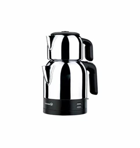 Korkmaz A359 Demkolik Çay Makinası Inox Siyah. ürün görseli