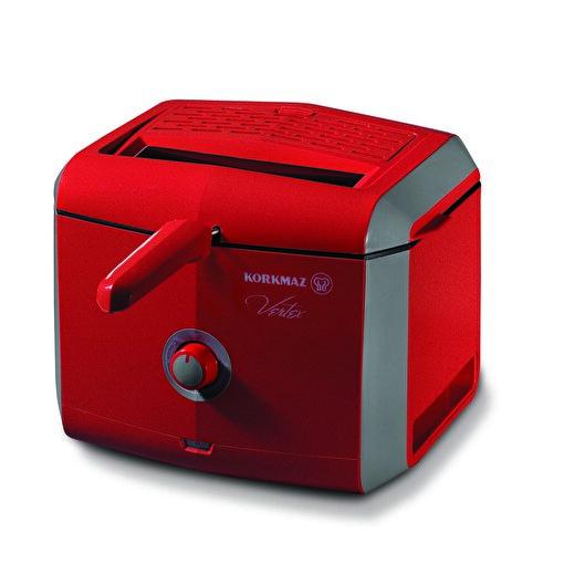 Korkmaz A486-02 Vertex Fritöz Kırmızı. ürün görseli