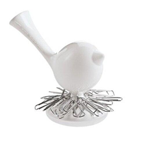 Koziol 5534-525 Kuş Şeklinde Ataçlık Beyaz. ürün görseli