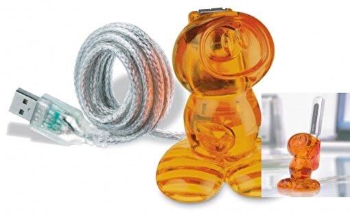 Koziol 5941-509 Neil Usb Kablo Turuncu. ürün görseli