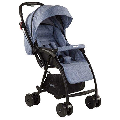 Kraft Pop-Up Bebek Arabası - Lacivert. ürün görseli