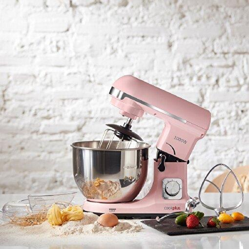 Cookplus MK-37 Quick Chef 1001 Mutfak Şefi Stand Mikser Pink Pembe. ürün görseli