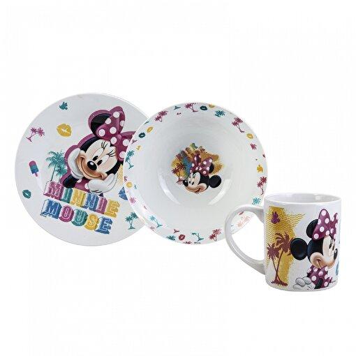 Karaca Minnie Mouse 3'Lü Mama Seti . ürün görseli