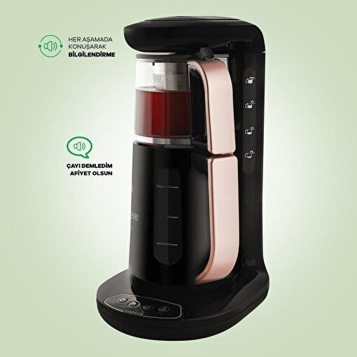 Karaca Çaysever Robotea Rosegold Çay Makinesi . ürün görseli
