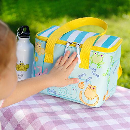 Milk&Moo Isı Yalıtımlı Beslenme Çantası Turkuaz. ürün görseli