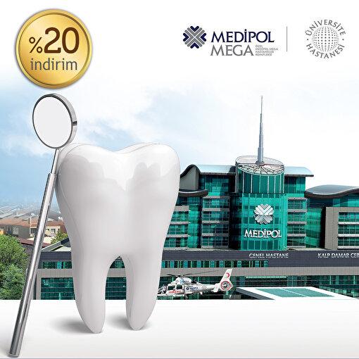 Medipol Mega Diş Hastanesi İmplant Paketi'nde %20 Kuponu. ürün görseli