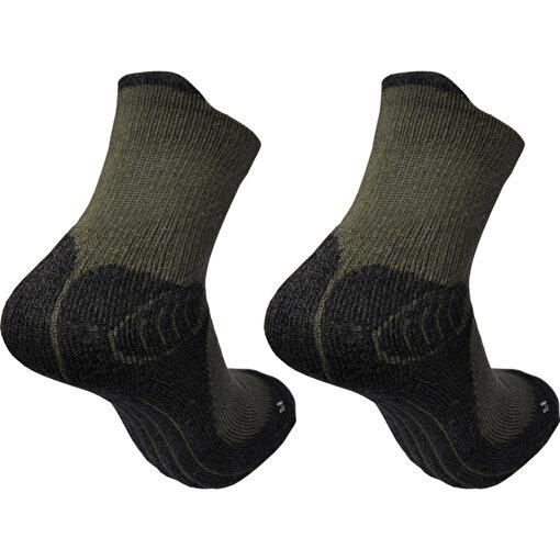 Makalu Bhc011 Haki Çiftli Trekking Extreme Çorap. ürün görseli