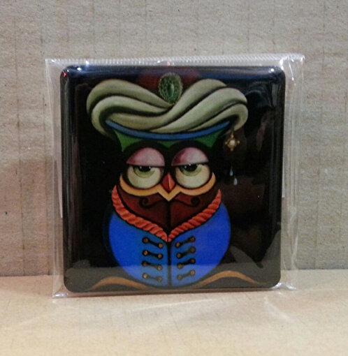 Monatitti Mavi Baykuş Magnet. ürün görseli