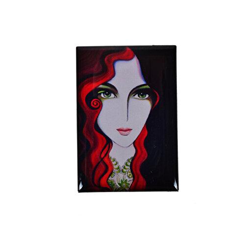 Monatitti Portre Magnet. ürün görseli