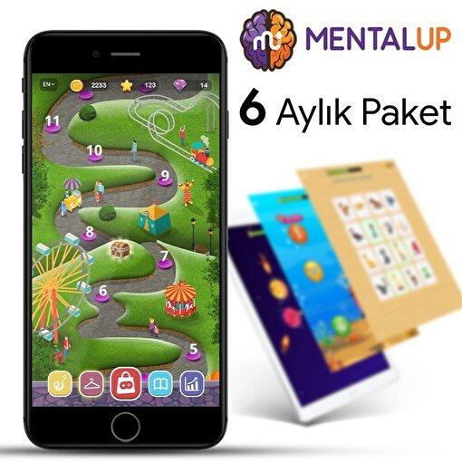 MentalUP Online Eğitici Çocuk Oyunu - 6 Ay Abonelik Paketi. ürün görseli