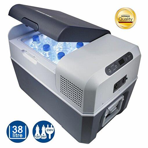 Mobicool FR40 12/24/220Volt AC/DC 38 Litre Kompresörlü Oto Buzdolabı. ürün görseli